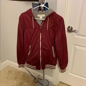 H and m zip up jacket